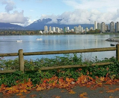 Vancouver - Kits Beach to Granville Island